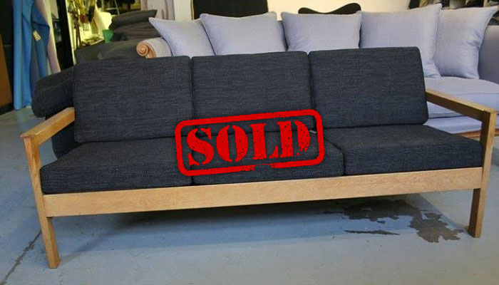 grey sofa sold
